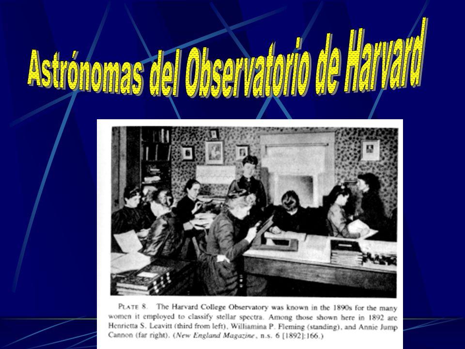 Astrónomas del Observatorio de Harvard