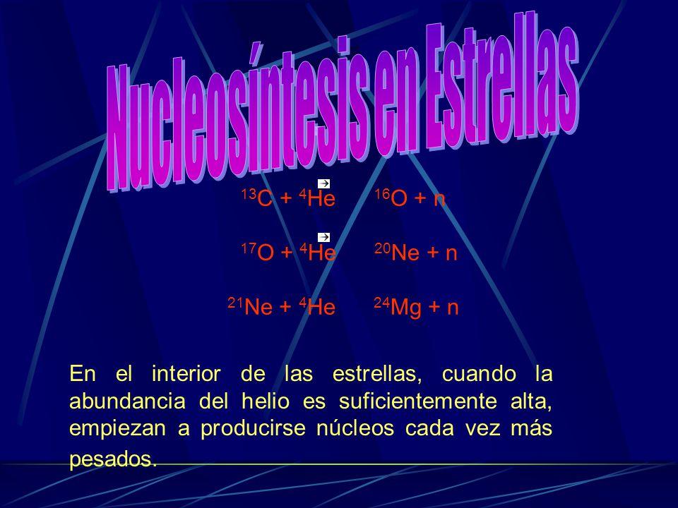 Nucleosíntesis en Estrellas