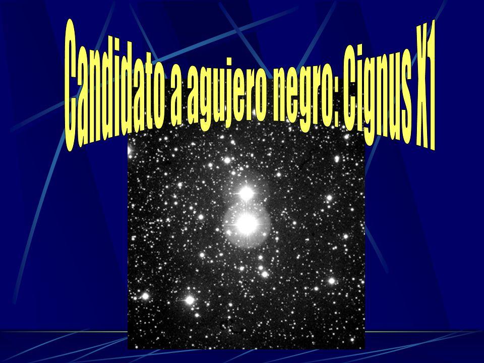 Candidato a agujero negro: Cignus X1