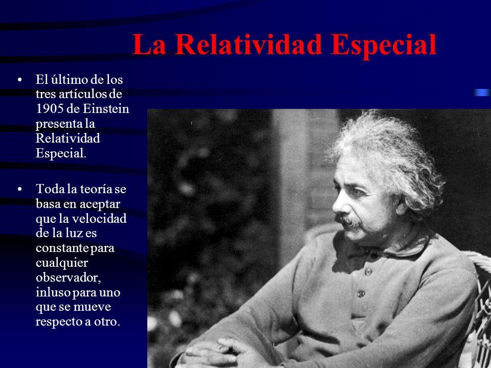La Relatividad Especial