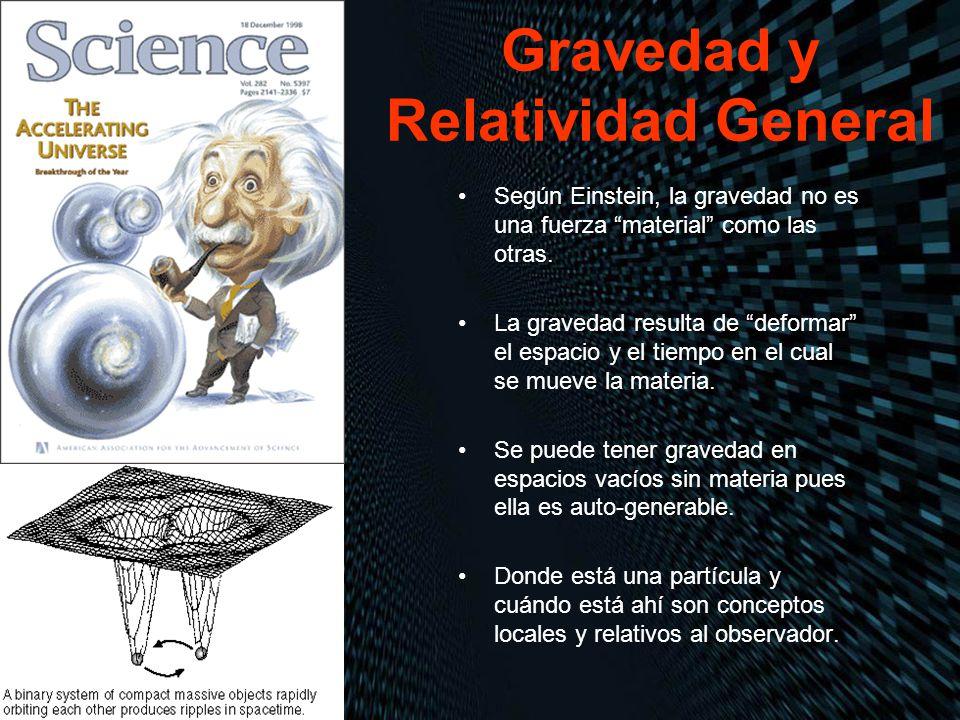 Gravedad y Relatividad General