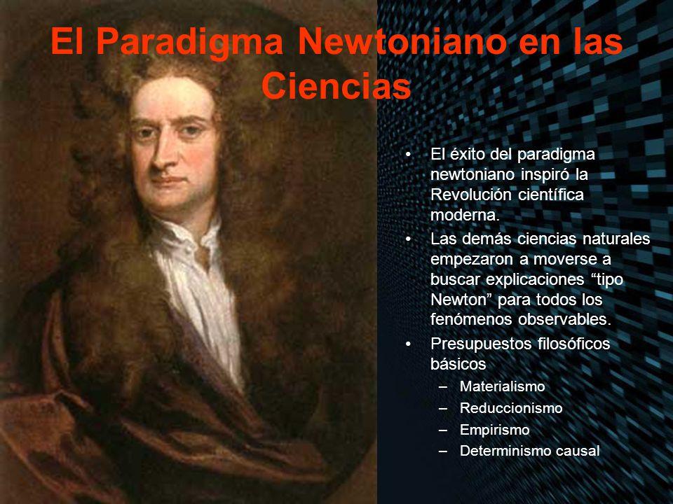 El Paradigma Newtoniano en las Ciencias