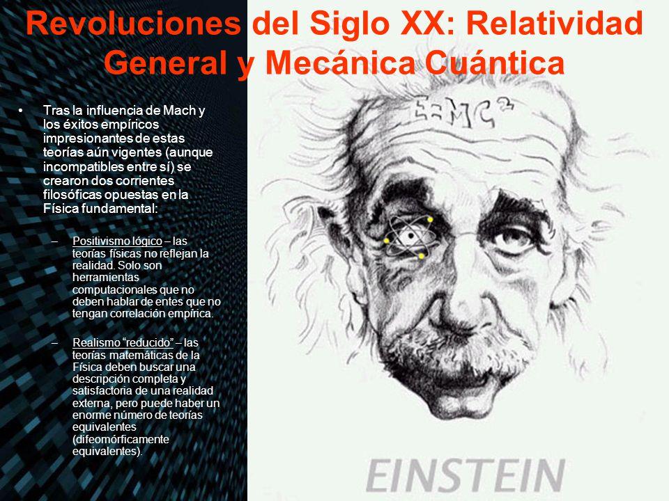 Revoluciones del Siglo XX: Relatividad General y Mecánica Cuántica