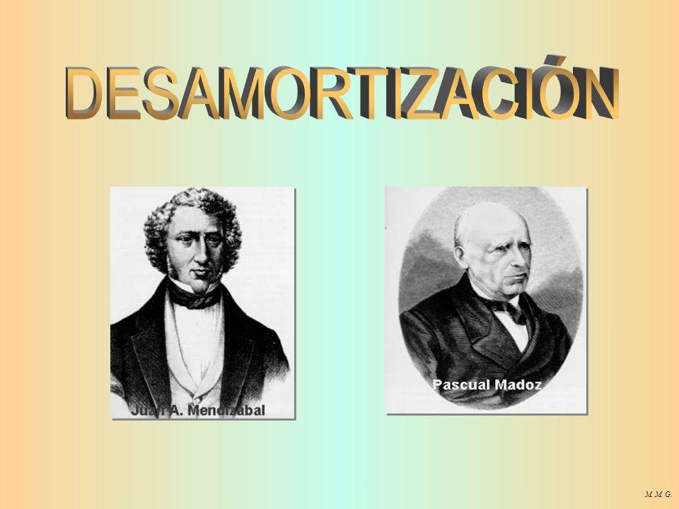 DESAMORTIZACIÓN M. M. G.