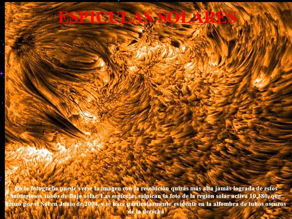 ESPICULAS SOLARES