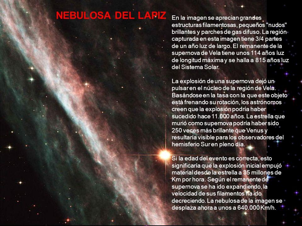 NEBULOSA DEL LAPIZ