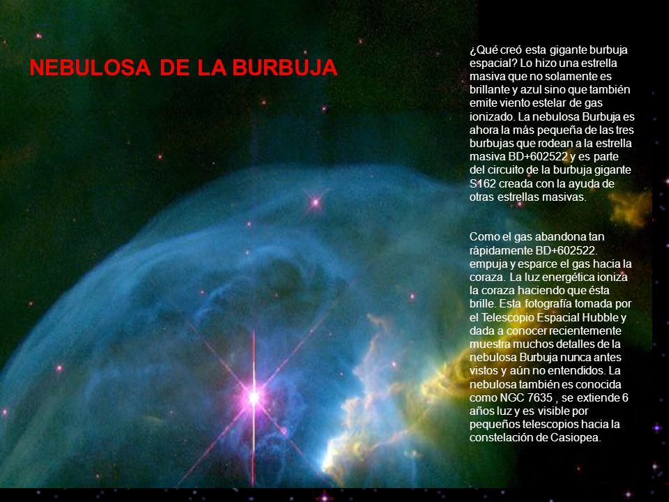 ¿Qué creó esta gigante burbuja espacial