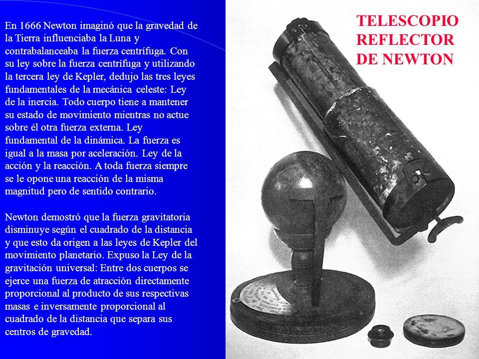 TELESCOPIO REFLECTOR DE NEWTON