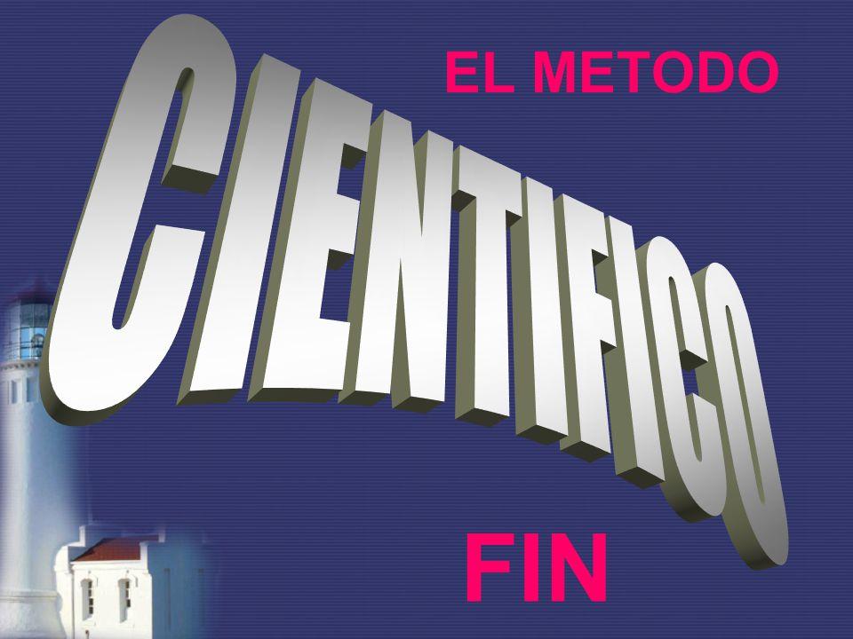 EL METODO CIENTIFICO FIN