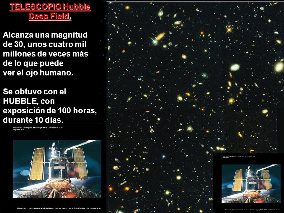 TELESCOPIO Hubble Deep Field.
