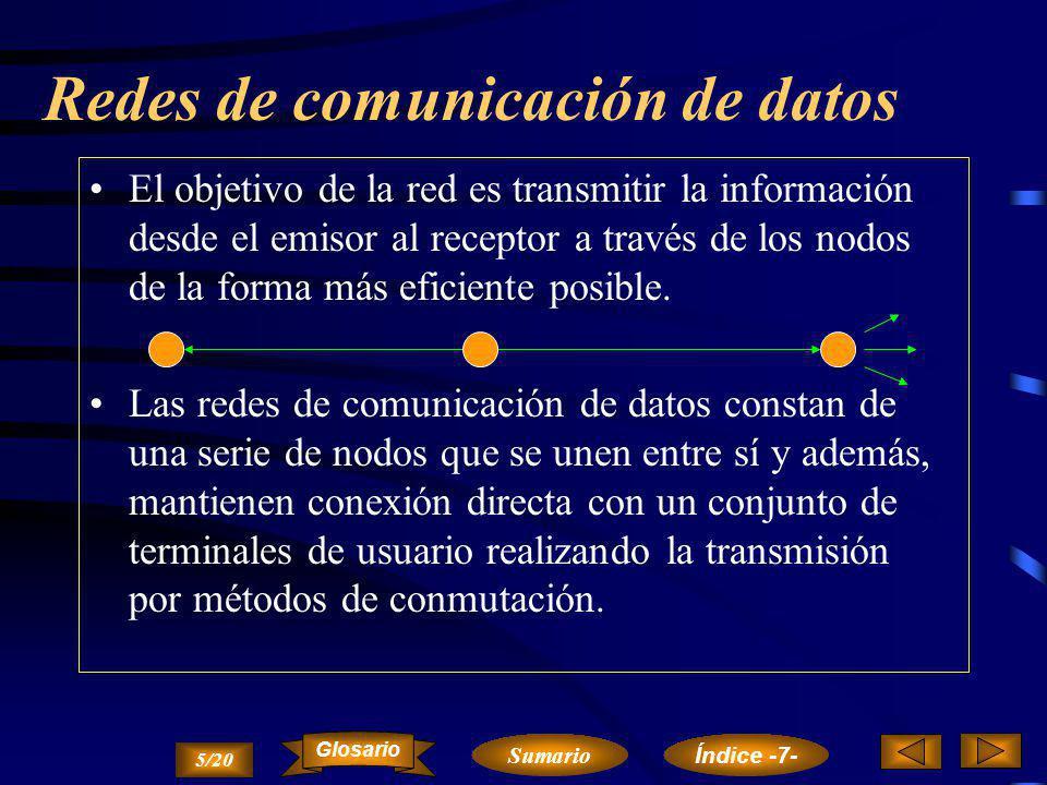 Redes de comunicación de datos