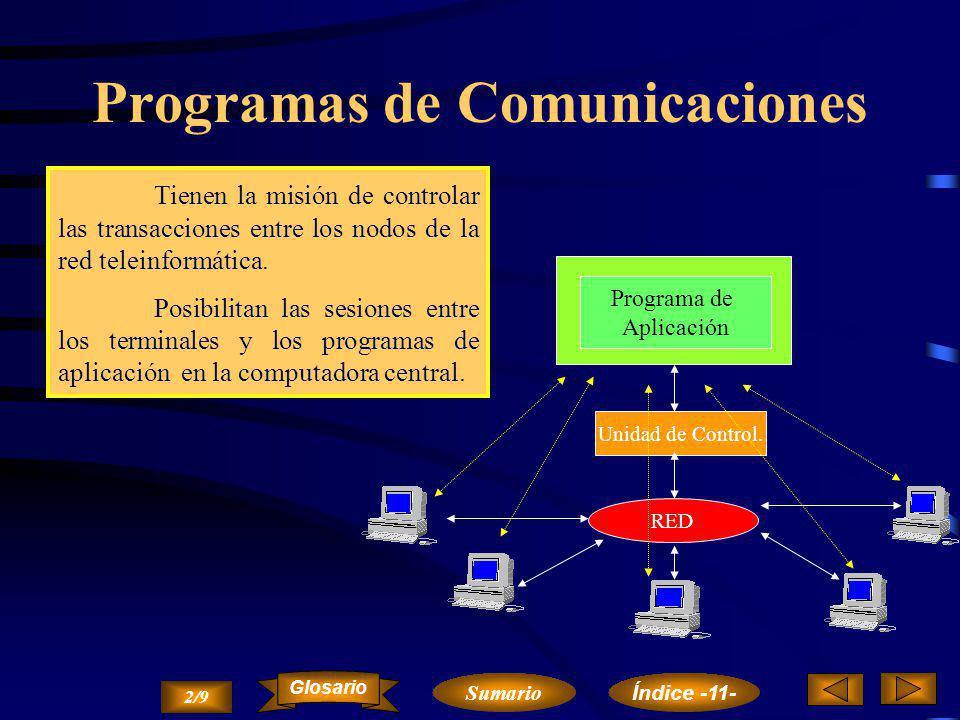 Programas de Comunicaciones
