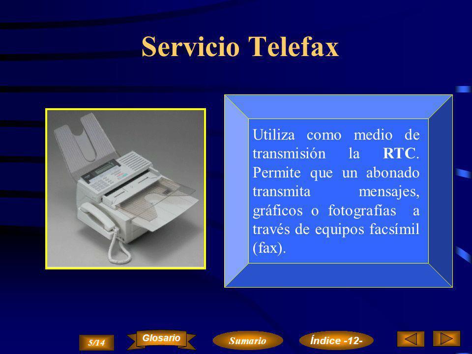 Servicio Telefax