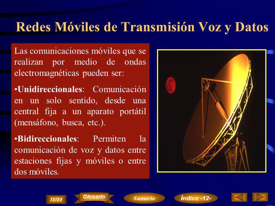 Redes Móviles de Transmisión Voz y Datos