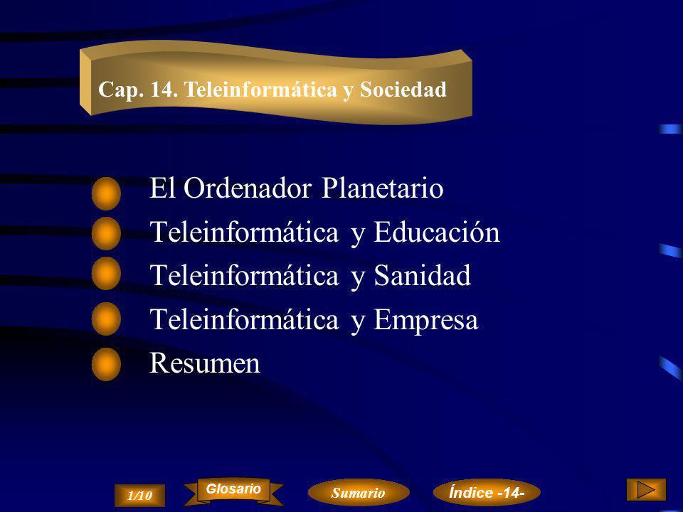 El Ordenador Planetario Teleinformática y Educación