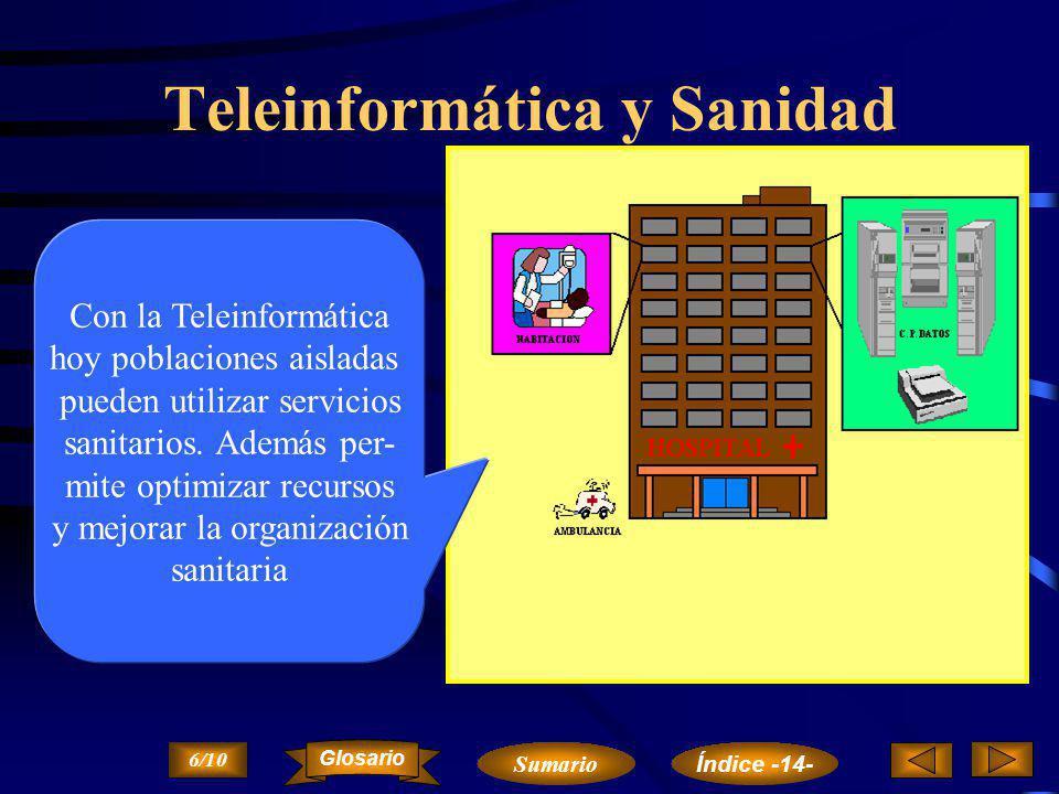 Teleinformática y Sanidad