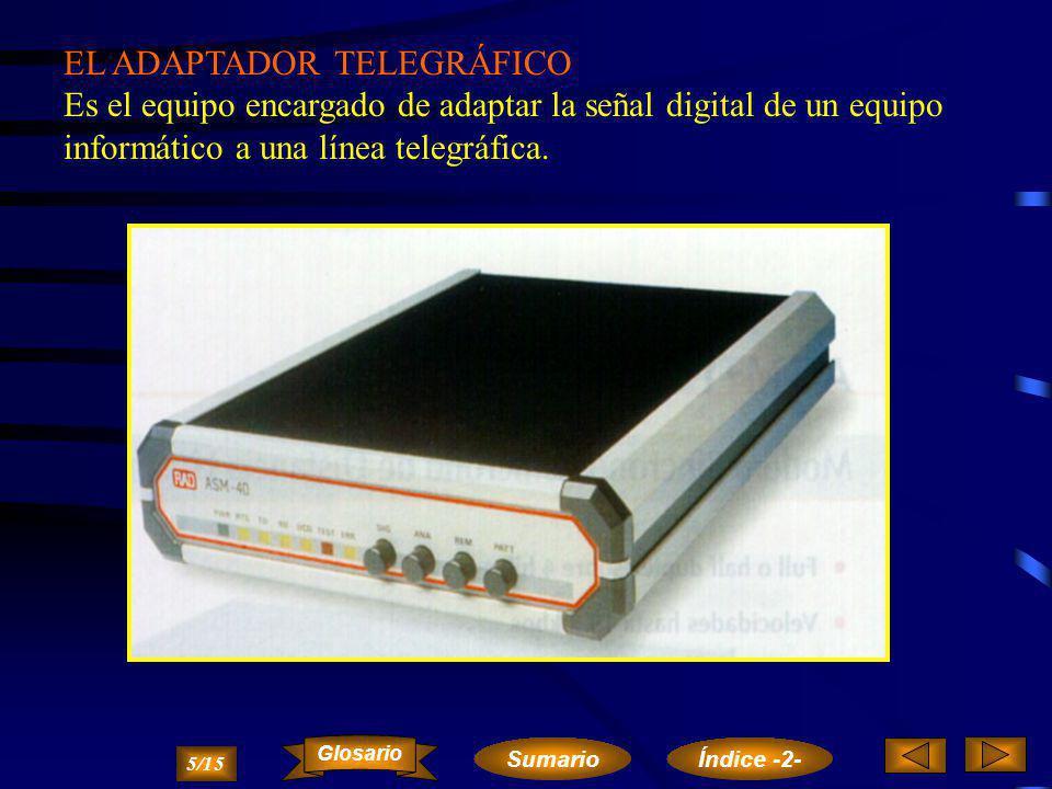 EL ADAPTADOR TELEGRÁFICO