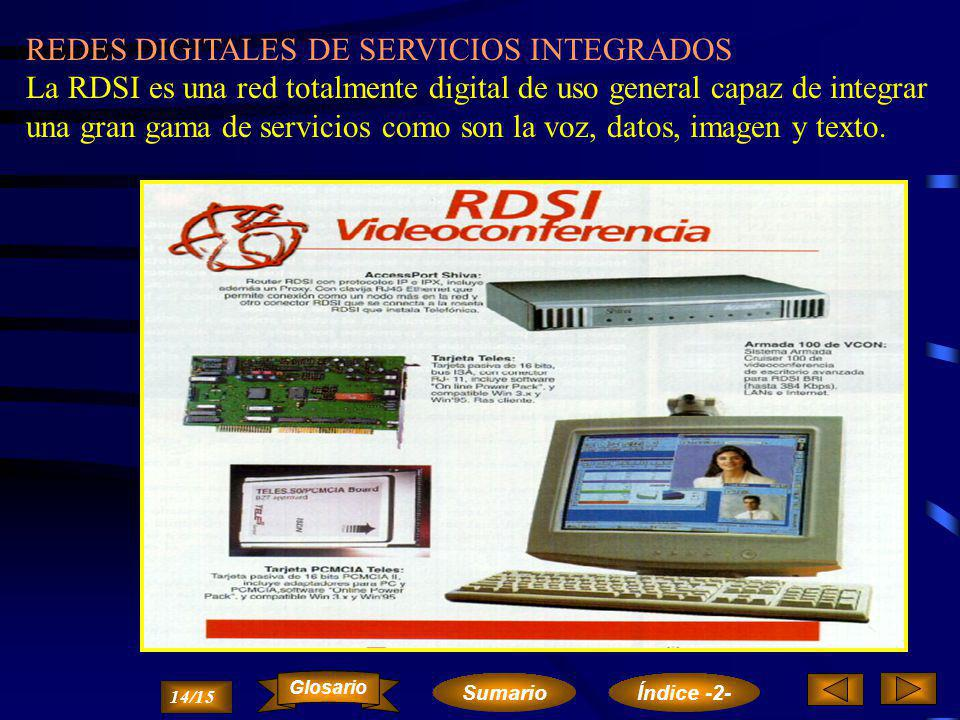 REDES DIGITALES DE SERVICIOS INTEGRADOS