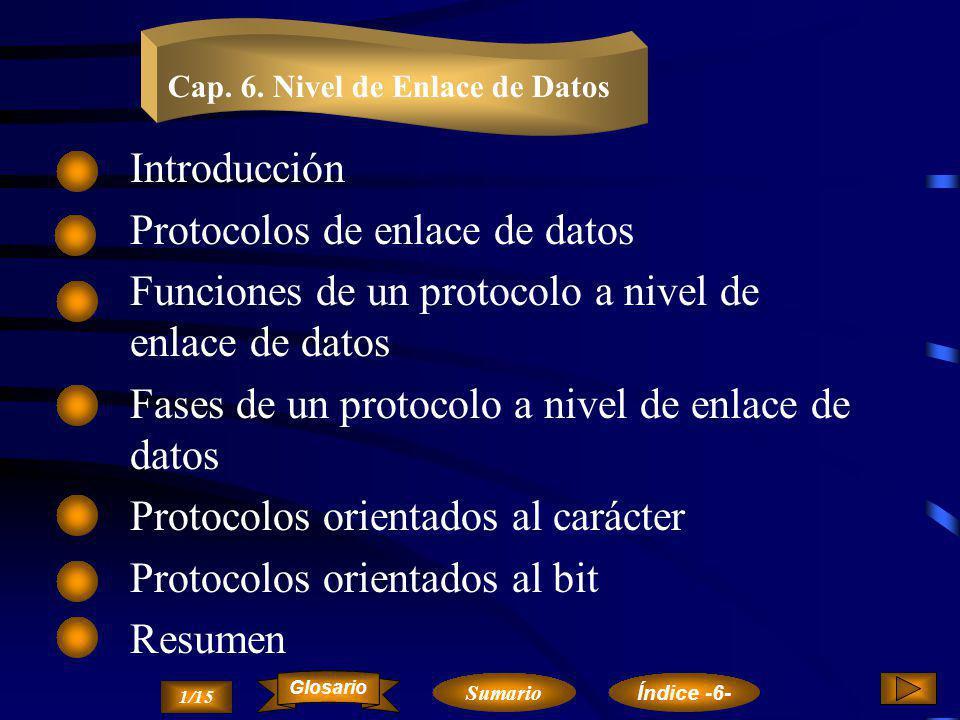 Protocolos de enlace de datos