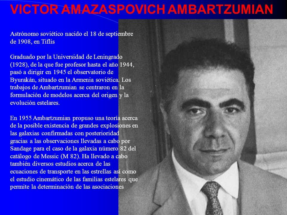 VICTOR AMAZASPOVICH AMBARTZUMIAN