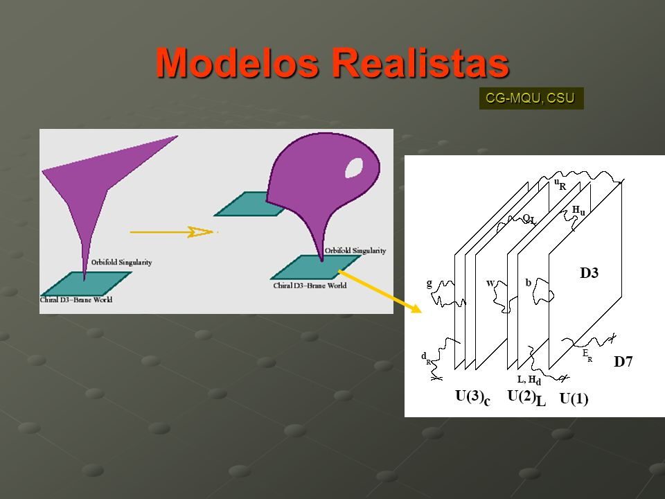 Modelos Realistas CG-MQU, CSU