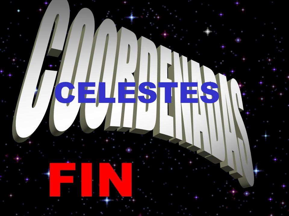 COORDENADAS CELESTES FIN