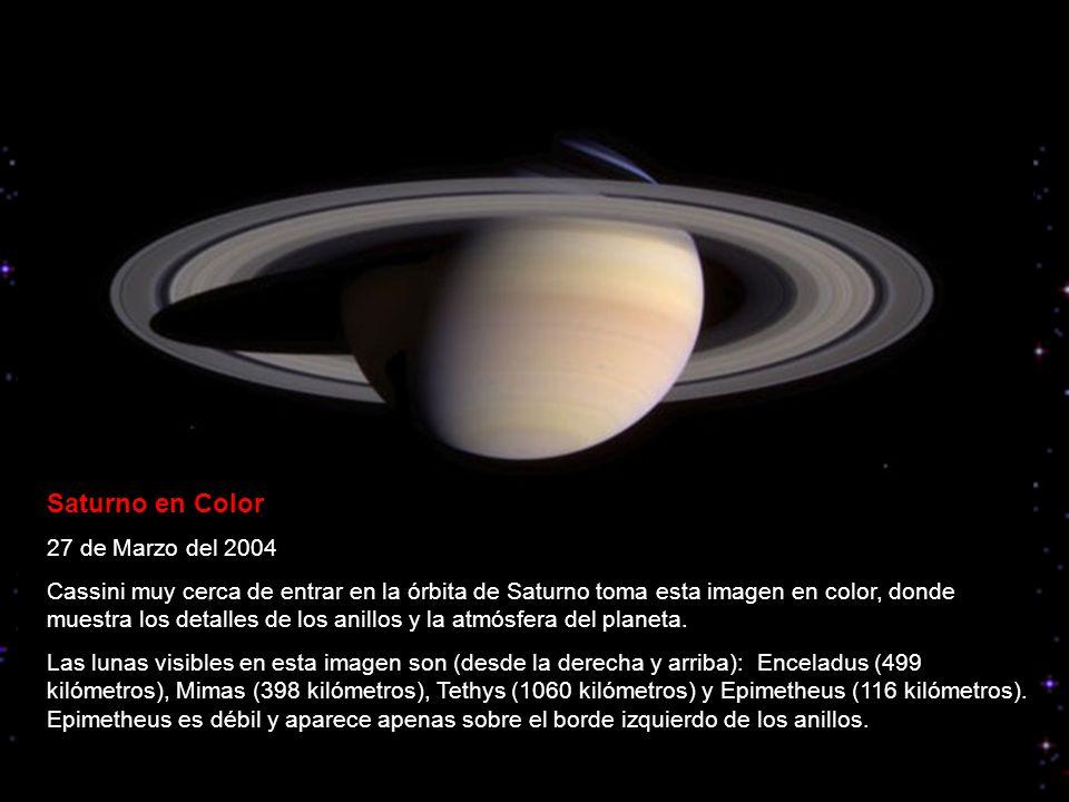 Saturno en Color 27 de Marzo del 2004