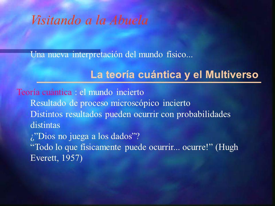 Visitando a la Abuela La teoría cuántica y el Multiverso