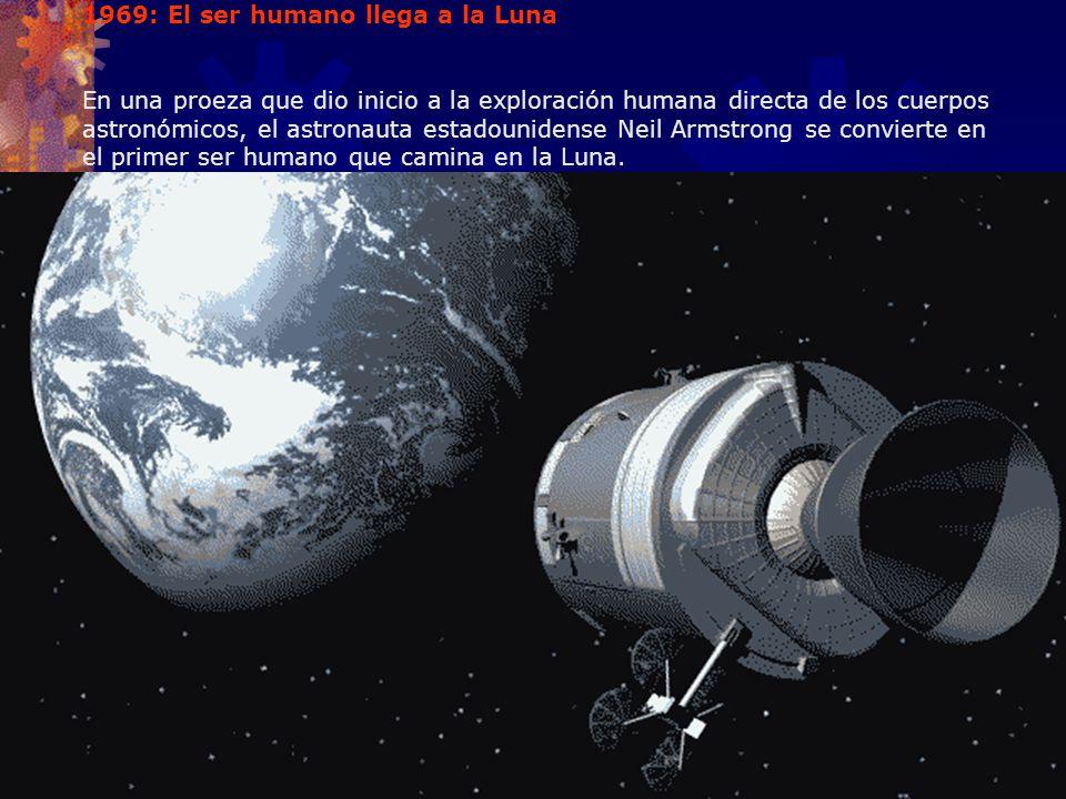 1969: El ser humano llega a la Luna