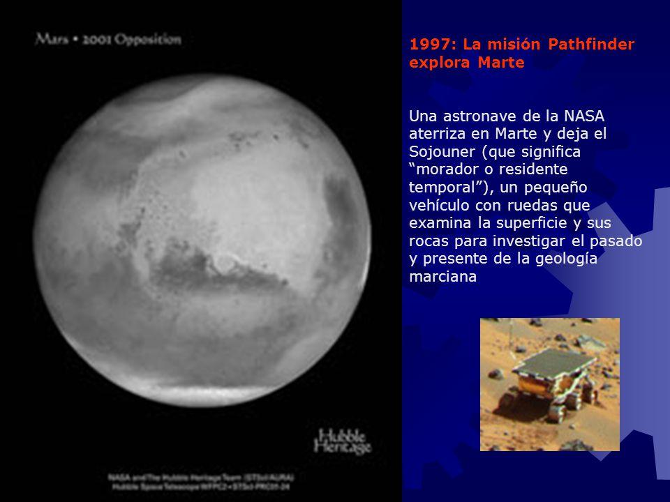 1997: La misión Pathfinder explora Marte