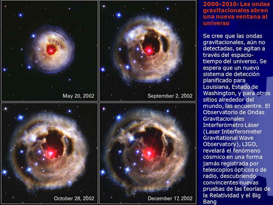 2000-2010: Las ondas gravitacionales abren una nueva ventana al universo