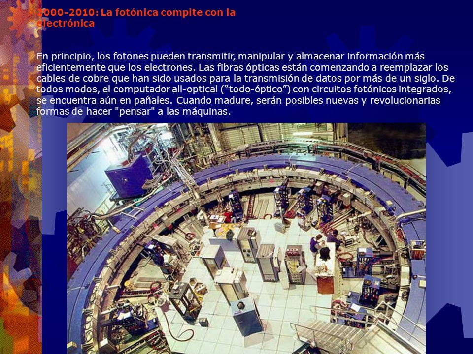 2000-2010: La fotónica compite con la