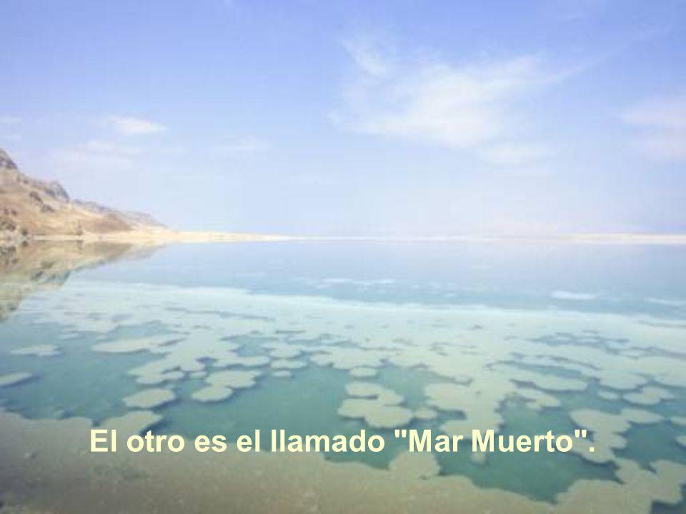 El otro es el llamado Mar Muerto .