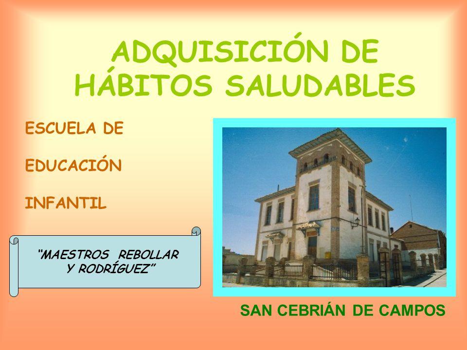 ADQUISICIÓN DE HÁBITOS SALUDABLES