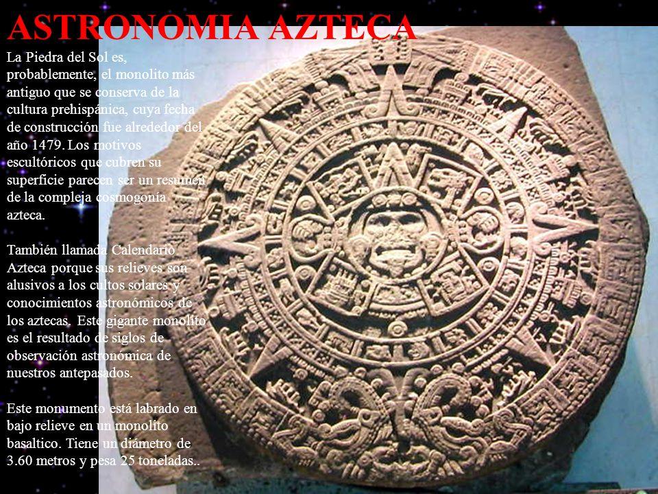 ASTRONOMIA AZTECA