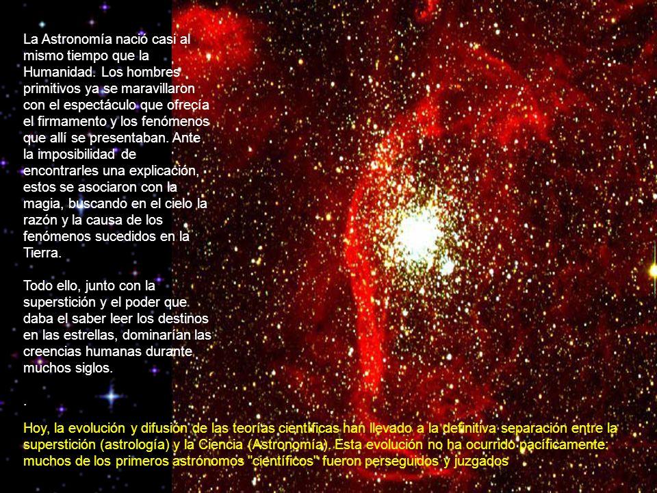 La Astronomía nació casi al mismo tiempo que la Humanidad