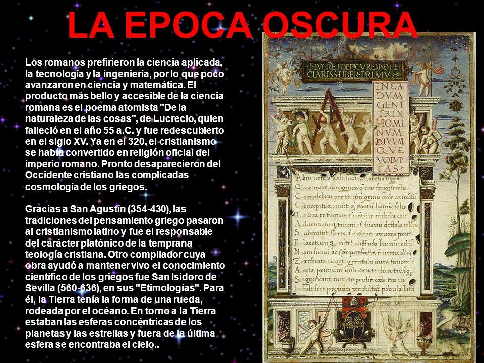 LA EPOCA OSCURA