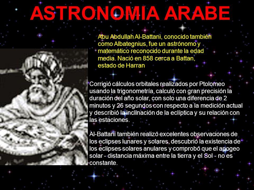 ASTRONOMIA ARABE