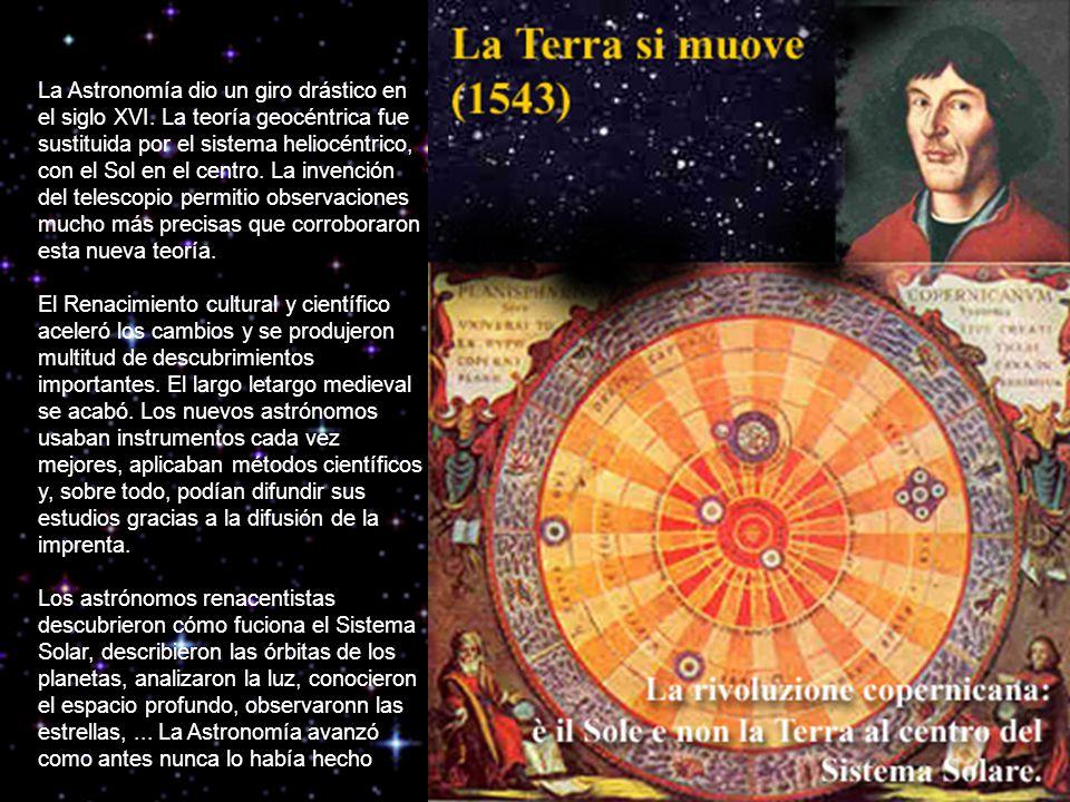 La Astronomía dio un giro drástico en el siglo XVI