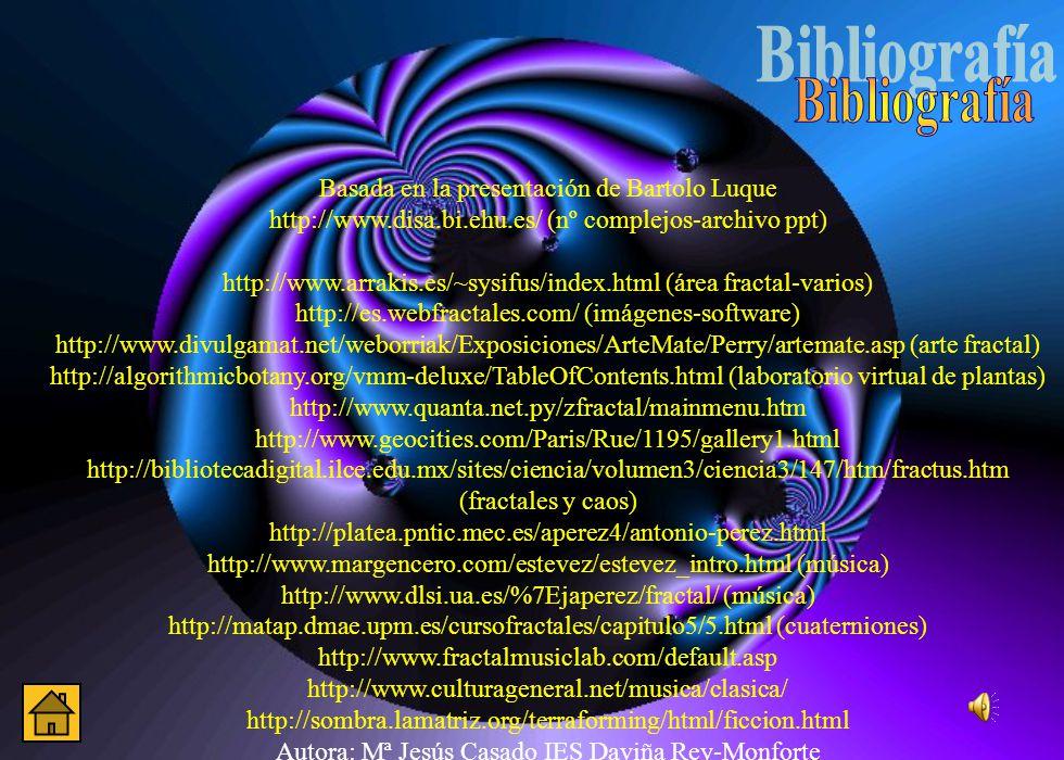 Bibliografía Basada en la presentación de Bartolo Luque