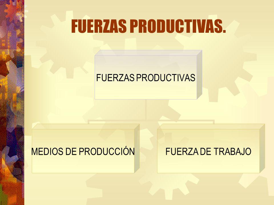 FUERZAS PRODUCTIVAS.