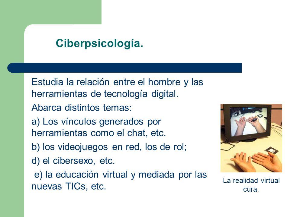 La realidad virtual cura.