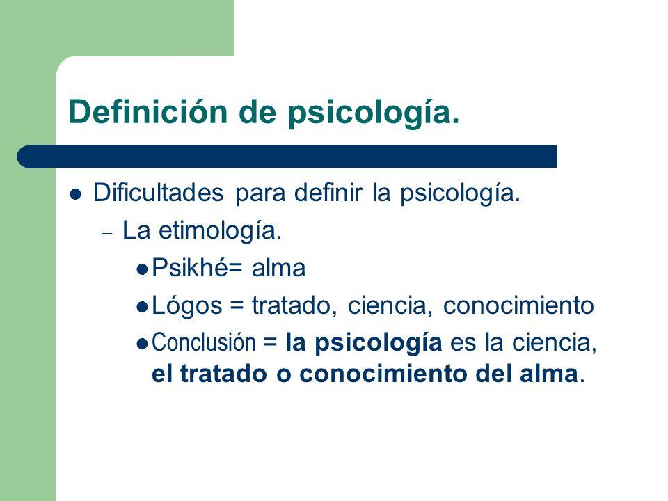 qu es la psicolog a si la psique humana fuera tan