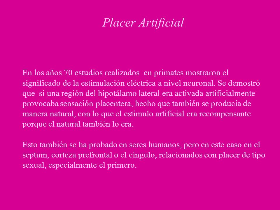 Placer Artificial