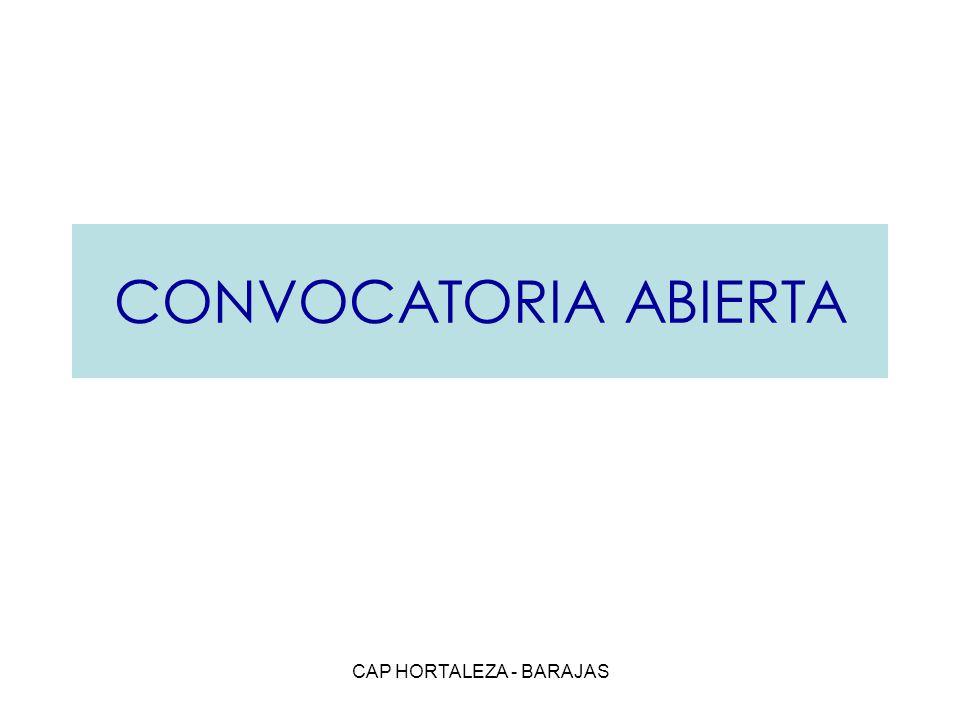 CAP HORTALEZA - BARAJAS