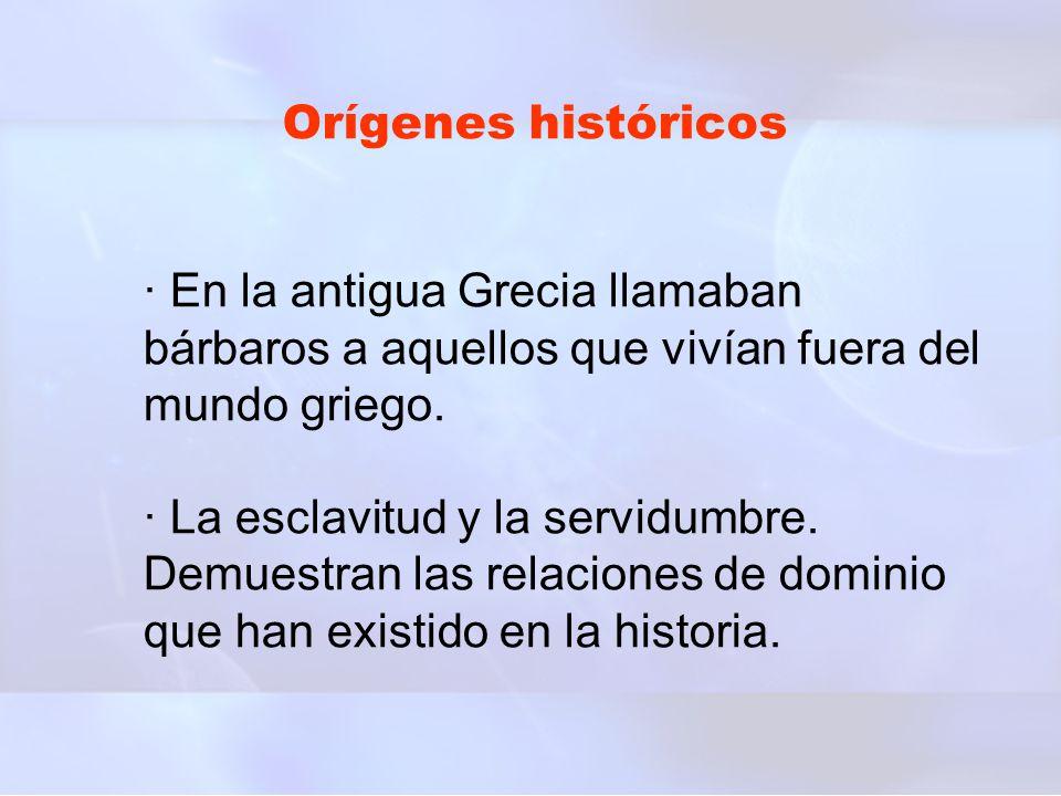Orígenes históricos
