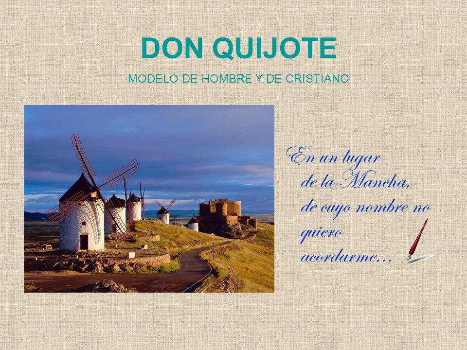 MODELO DE HOMBRE Y DE CRISTIANO