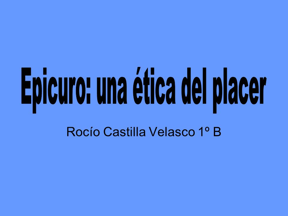 Rocío Castilla Velasco 1º B