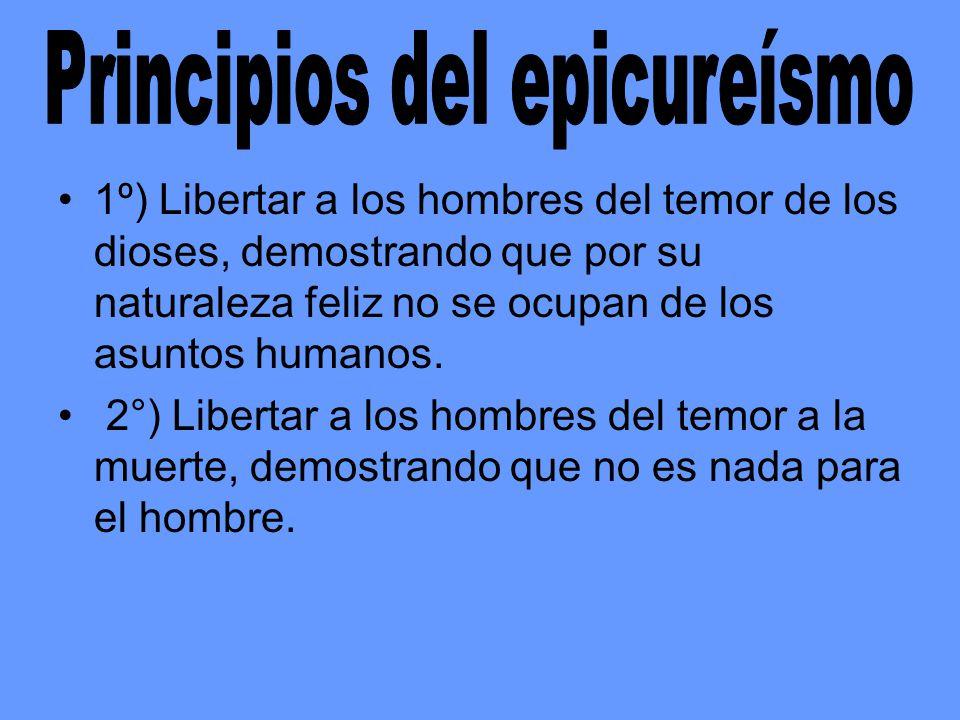 Principios del epicureísmo