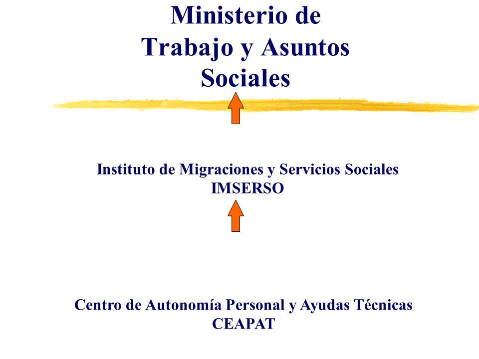 Ministerio de Trabajo y Asuntos Sociales